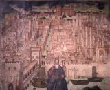 Bernardino Lanzani - Pavia / View of City / Lanzani fresco