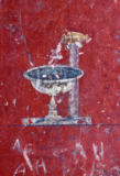 Pompeji - Pompeii / Fountain / Mural / Photo