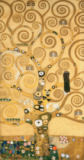 Gustav Klimt - Tree of Life, middle panel