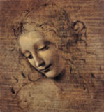 Leonardo da Vinci - Female head