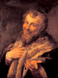 Agostino Carracci - Democritus, the laughing Philosopher
