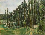 Paul Cézanne - The Poplars
