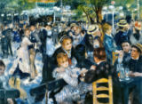 Pierre Auguste Renoir - Ball at the Moulin de la Galette, 1876