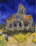 Vincent van Gogh - The church in Auverssur-Oise