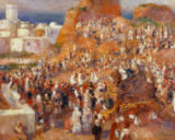 Pierre Auguste Renoir - The mosque, Arab festival