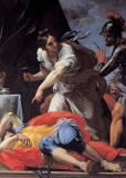 Carlo Maratti - Jael killing the commander Sisera