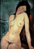 Amedeo Modigliani - Seated nude (female)