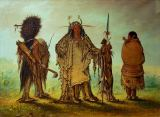 George Catlin - Blackfoot-Indianer