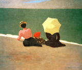 Felix Edouard Vallotton - Am Strand