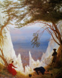 Caspar David Friedrich - White Clfifs of Ruegen