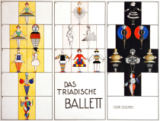 Oskar Schlemmer - Sketch of Figures for the Triadic Ballet