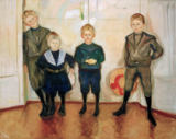 Edvard Munch - The Sons of Dr Linde