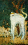 Pierre Bonnard - The white cat