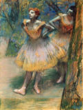 Edgar Degas - Two dancers