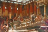 Sir Edward John Poynter - The visit of the Queen of Sheba to King of Salomon