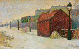 Paul Signac - Montmartre in snow