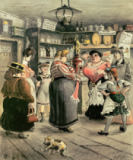 Heinrich Zille - Women in the pub