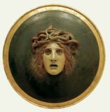 Arnold Böcklin - Plate with the Head of Medusa