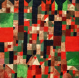 Paul Klee - Cityscape (red-green Accentuations)