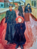 Edvard Munch - Four Different Ages