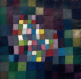 Paul Klee - Abstract in relation to a blossoming tree