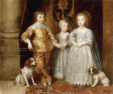 Anthonis van Dyck - The Three Children of Charles I