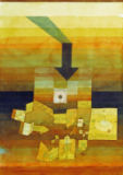 Paul Klee - Affected town