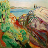 Edvard Munch - Summer and coast. Kragerö