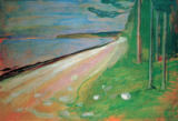 Edvard Munch - Beach near Asgardstrand