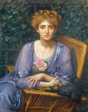 Sir Edward John Poynter - Portrait of Lady Markham