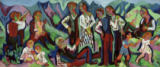 Ernst-Ludwig Kirchner - Sunday of the mountain farmers (Alpsonntag)