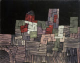 Paul Klee - Old Buildings, Sicily
