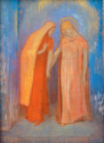 Odilon Redon - The Visitation