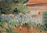 Max Liebermann - Flowering bushes next to the gardener's shed