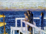 Pierre Bonnard - The jetty in Cannes