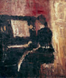 Edvard Munch - At the Piano