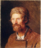 Iwan Nikolajewitsch Kramskoi - Head of a Peasant