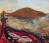 Edvard Munch - The island