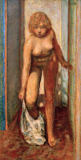 Pierre Bonnard - Woman undressing