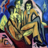 Ernst-Ludwig Kirchner - Conversation among artists