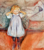 Edvard Munch - The Dead Mother