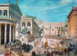 AKG Anonymous - Daily life on the Forum Romanum at the beginning of the third century.