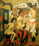 Ernst-Ludwig Kirchner - Nudes in the studio