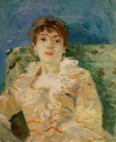 Berthe Morisot - Young woman on a divan