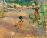 Berthe Morisot - Beach in Nice