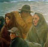 Michael Peter Ancher - At the pier / detail
