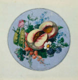 Georg Friedrich Kersting - Circular Fruit Piece