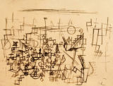 Paul Klee - Crowd in the Harbour