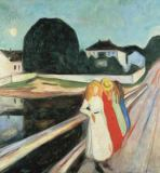 Edvard Munch - Four Girls on a Bridge