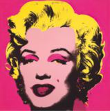 Andy Warhol - Marilyn Monroe (Marilyn), 1967 (hot pink)